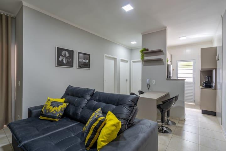 Apartamento confortável e completo em Três Lagoas