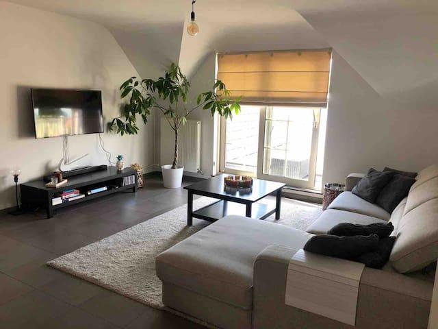 Ruim appartement in groene omgeving!