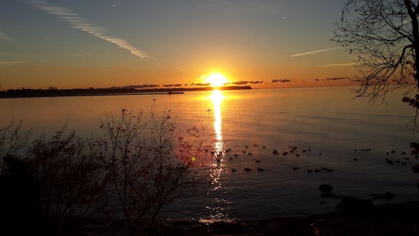 Sunrise B&B Cabin on the Lake - Dunnville