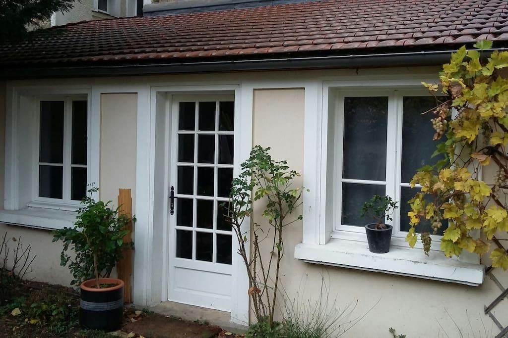 Studio 7 39 de st lazare maisons louer bois colombes - Location maison jardin ile de france colombes ...