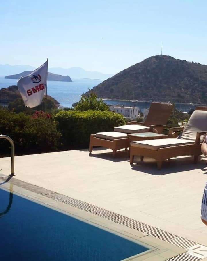 2 BR Amazing Garden and Pool in Bodrum