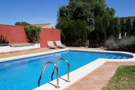 Hoopoe Cottage and pool - Barbate
