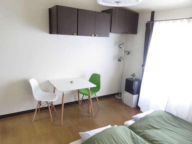 1minTamaplaza*18minShibuya*Cozyroom for8 Port.wifi