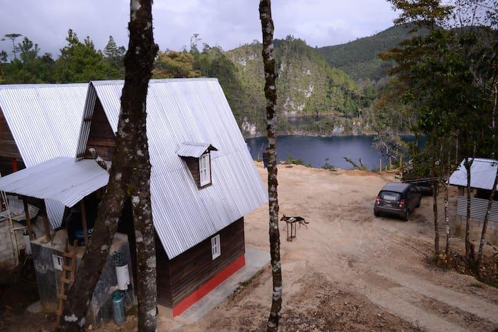 Cabaña 1 en Lagunas de Monte Bello Chiapas - La Trinitaria - Casa