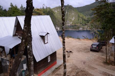 Cabaña 1 en Lagunas de Monte Bello Chiapas