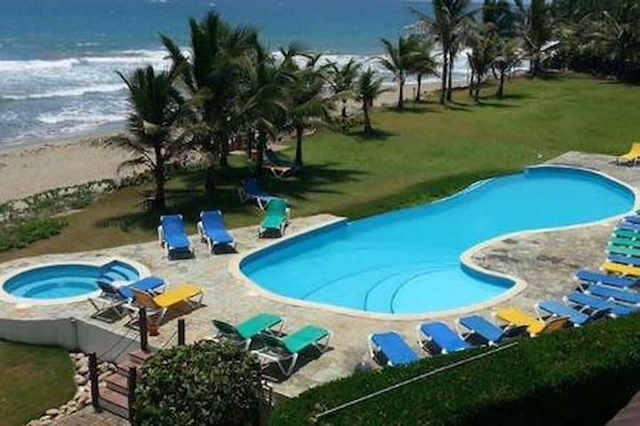Oceanfront Cabarete..Modern and beautifully furnished condo