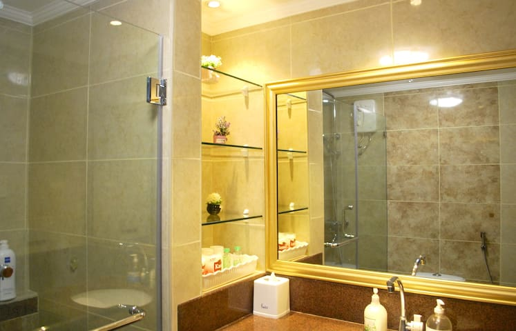 Newly Renovated Upscale Bathroom