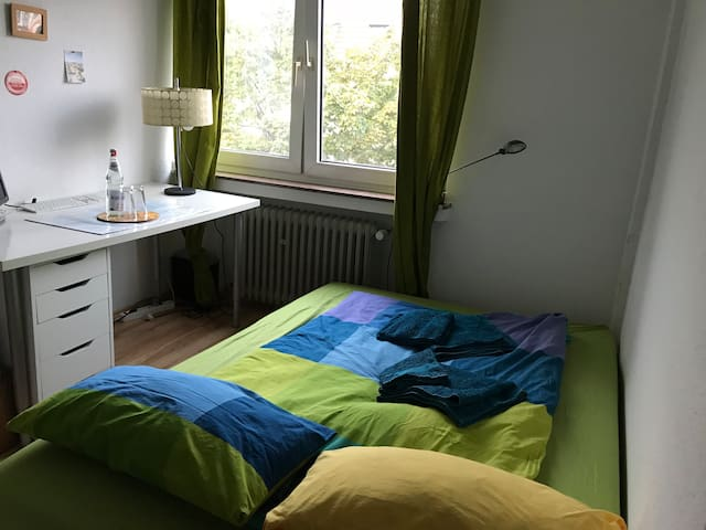 Privat room for 1 or 2 persons near trade fair