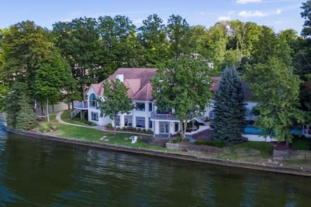 Mansion on Geist Lake / Reservoir: NE Indianapolis - Indianapolis - Casa