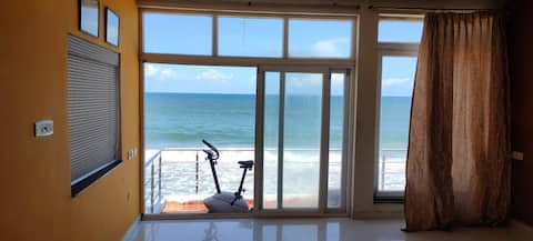 exotic beach  view , wifi, carpark, kitchen, TV