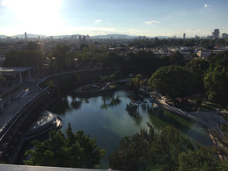 Vista desde Balcon