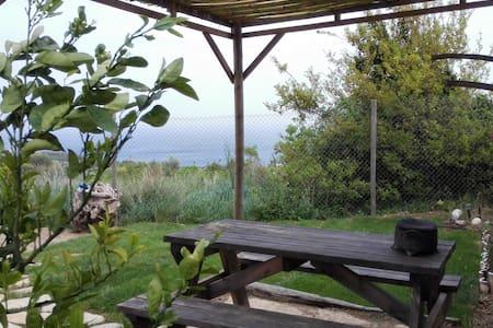 Great Sea view apartment in garden - Karaburun - 木屋