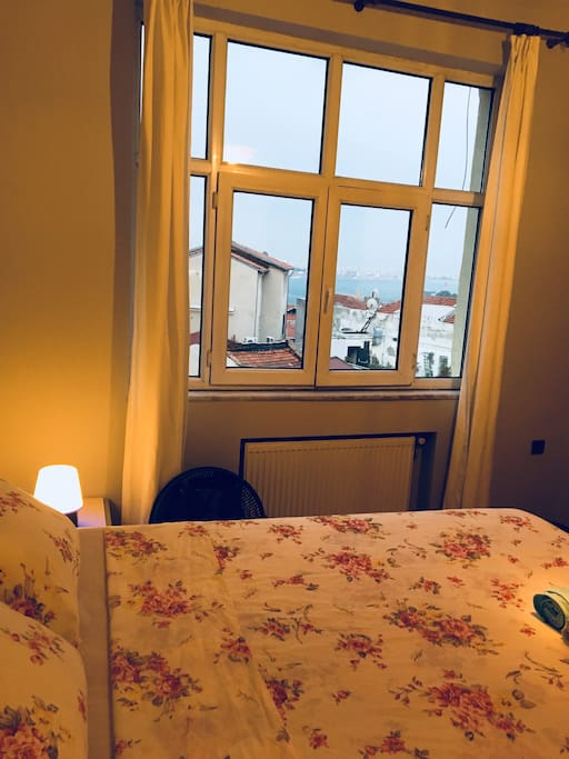 Sea view from Bedroom-1