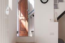 Ingresso principale e ingresso cucina