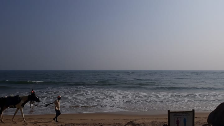 VIZAG GREEN HOME STAY 2 PEOPLE - AC Room - Wifi