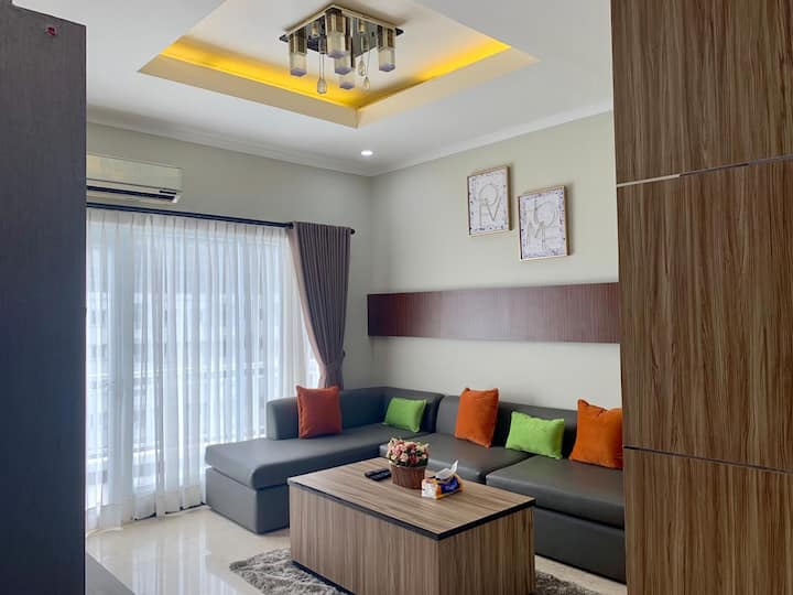 Apartemen Poins Square, Lebak Bulus, 3 Bedrooms