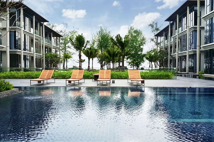 Luxury 2 Bedrooms with Beachfront at Maikhao Beach