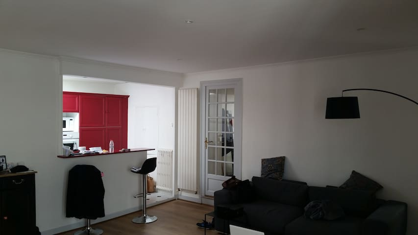 Room in a big flat down town Cognac - Cognac - Appartement