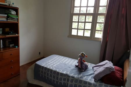 Quarto solteiro em lindo sítio - Nova Lima - Wohnung