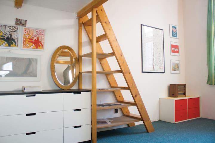 Quiet apartment 20 minutes to center