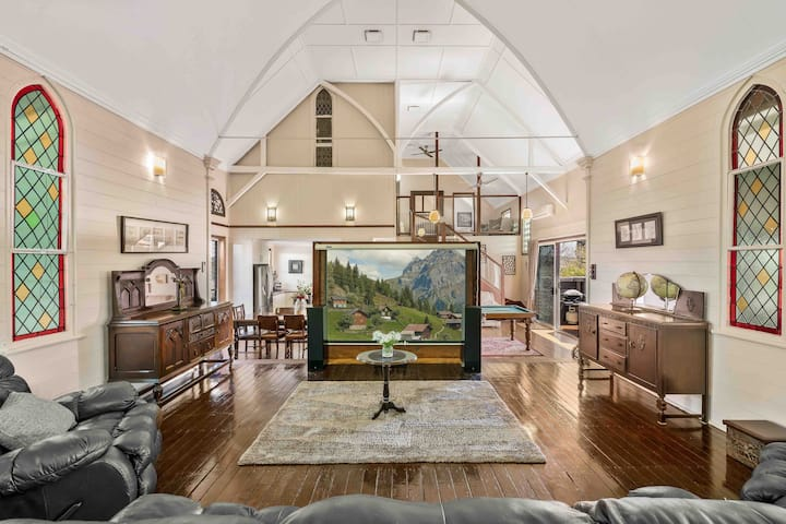 Famous Church Conversion- Serenity From The Past