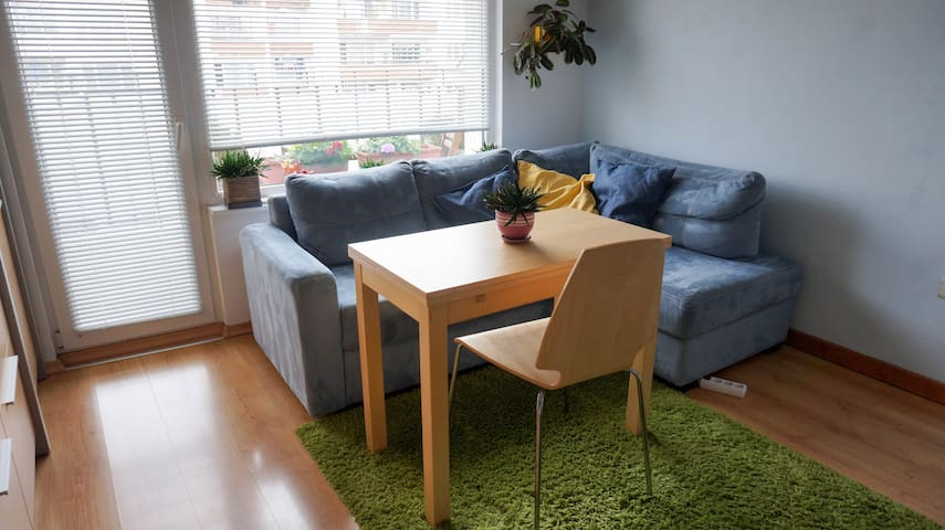 Bright flat 10 min walk from Business Park Sofia