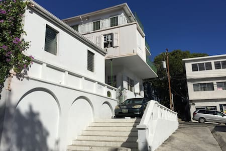 1BR Flat in Historic Downtown - Charlotte Amalie - Appartamento