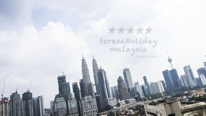 #S15-NewSky! for 5ppl With KLCC View
