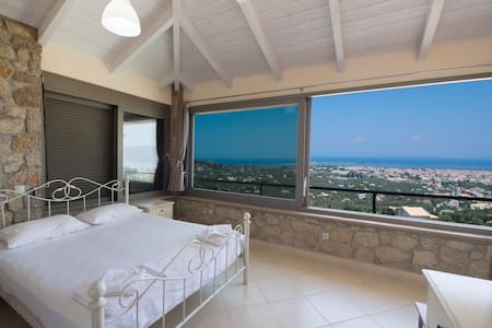 Cozy two bedroom apartment with panoramic sea view - レフカダ