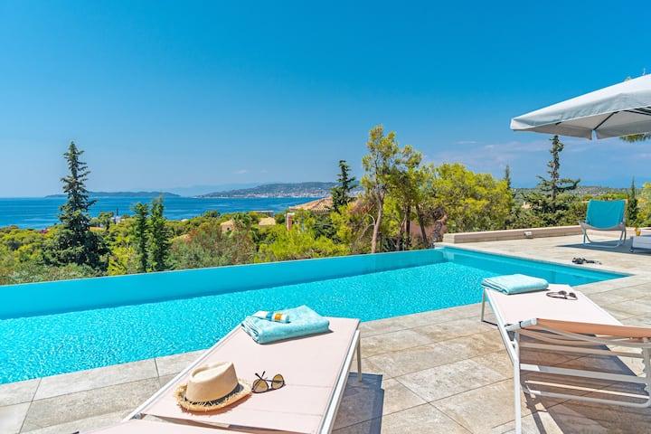 Villa Melanthi Amazing View on Spetses