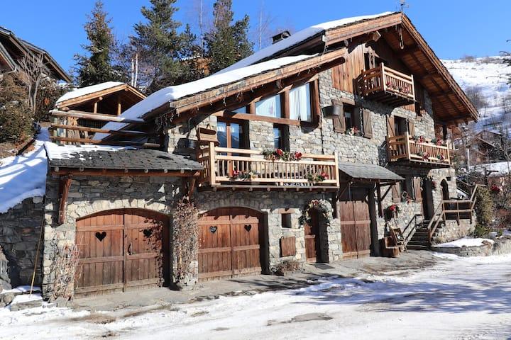 Chalet La Cordée / 3 Vallées-Lodges Saint Martin