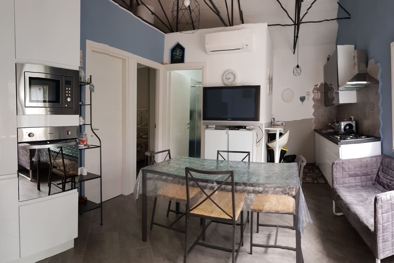 Ambiente cucina e sala
