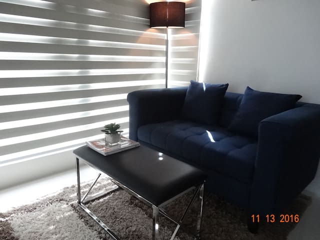 1BR Unit w/ reliable WiFi - The Currency, Ortigas