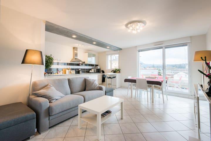 Calme&Lumineux, terrasse et garage - Annecy - Wohnung