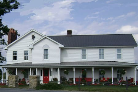Mountainview Farms B&B (Second Hand Rose Room) - Kylertown - B&B/民宿/ペンション