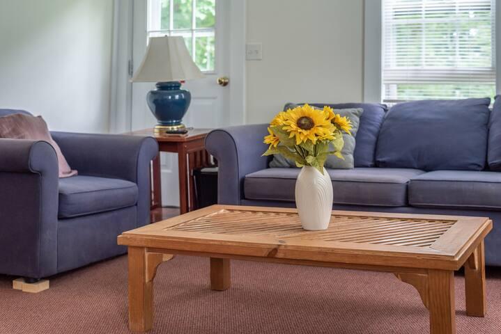 New listing! Dog-friendly home w/ an enclosed yard, Ping-Pong, & air hockey