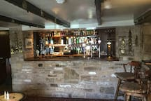 Bar area in pub
