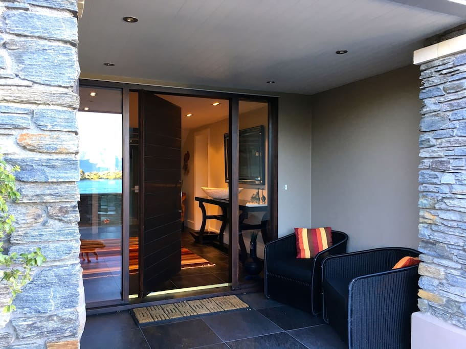 A warm welcome awaits in your Queenstown home.