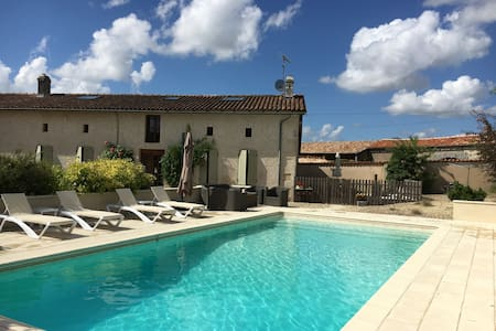 Luxury French Holiday Home with Pool - Sainte-Souline - 独立屋