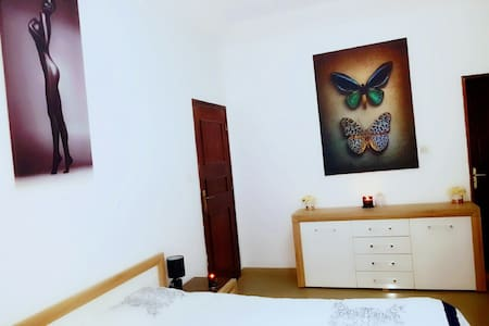 Chambre Cosy (grande SDB+Balcon)! - Dakar - Apartemen