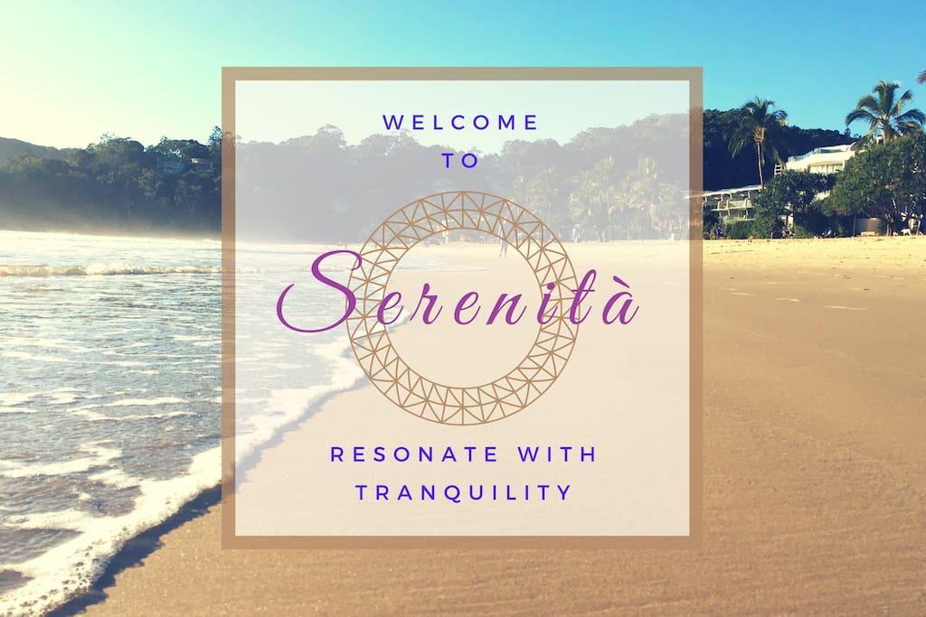 Enjoy your stay at Serenita!