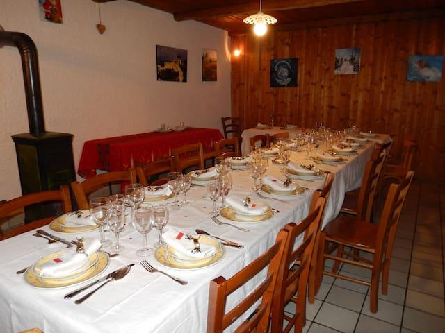 Gîte LOU MABO   La Chaux 25650 - La Chaux - Casa