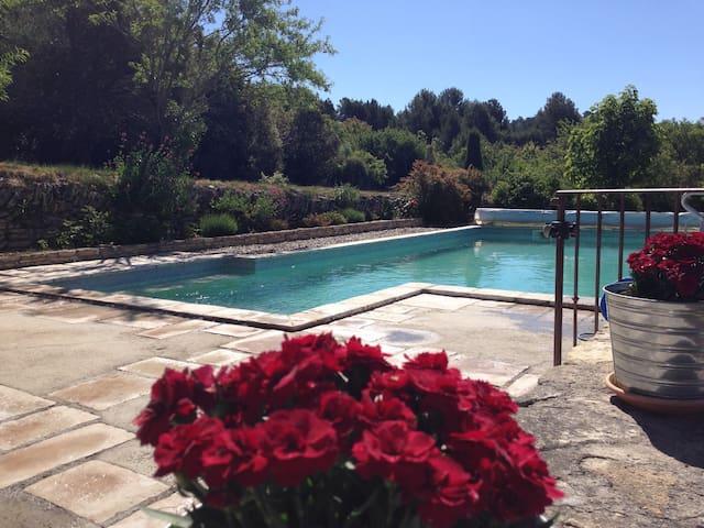 Gîte avec piscine au coeur de la Provence Verte