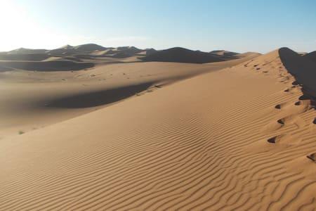 Bivouac Draa - Chegaga Wüste Nacht Halbpension