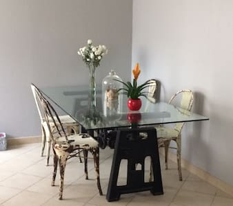 4 max in spacious contemporary house with parking - Sarcelles - 连栋住宅
