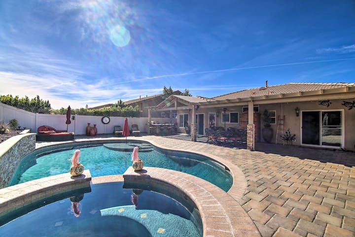 NEW! Luxury Desert Hot Springs Home On Golf Course