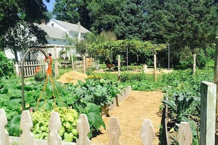 Beltane Farm - a working goat farm on 23 acres