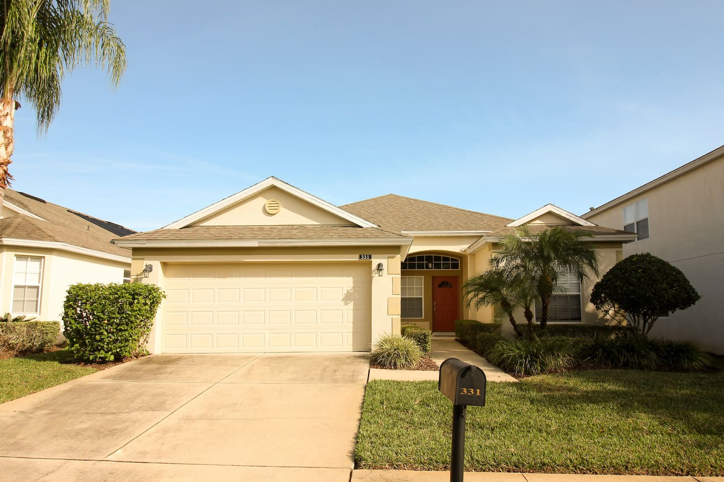 3 bed 2 bath home in gated community