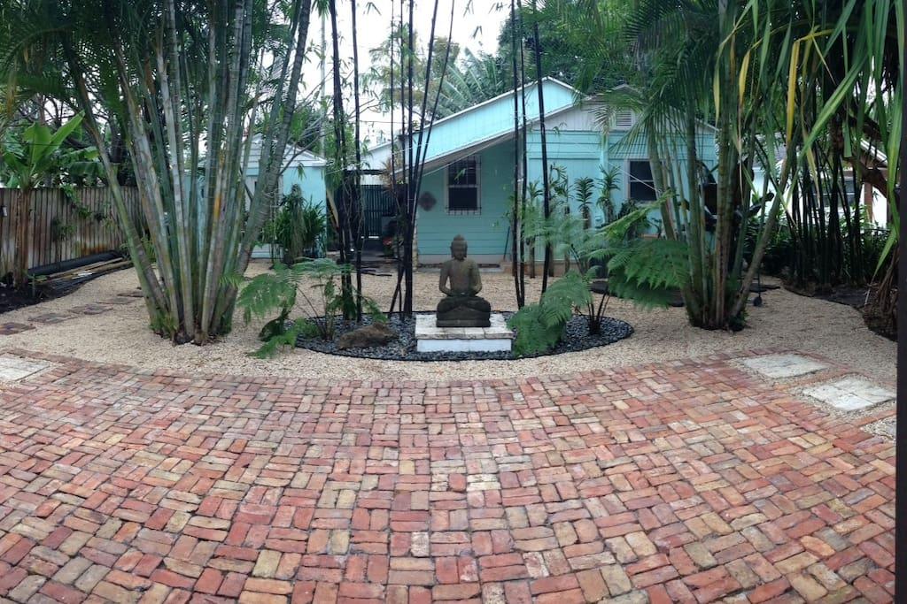 Orchid bungalow bungalows louer west palm beach for Jardin west palm