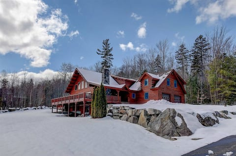Log Cabin Escape, Lafayette/Cannon Mountain Views